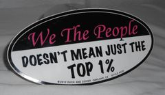 WE THE PEOPLE Bumper sticker last one!