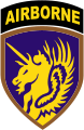The 13th Airborne Division unit Patch