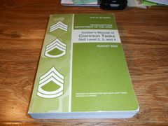 Soldier's Manual of Common Tasks (Skill Level 2, 3, and 4, STP-21-24-SMCT) Paperback – January 1, 2003