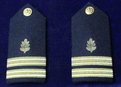 US Navy Medical Service Officer Shoulder Boards