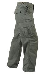 Vietnam Era M64 OD Green pants 6 pocket