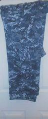 New - US Navy NWU Blue Camo pants