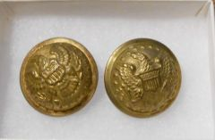 1832 pattern General Staff Button Set