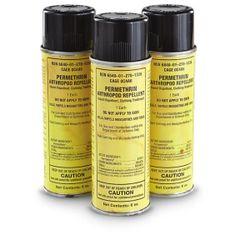 Permethrin Bug spray for clothing