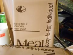 Meal Ready To Eat (MRE) case price (12 meals)