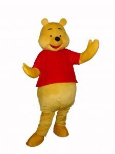 6c3285c1252d Winnie The Poo Costume mascot for hire Adult size pro outfit ...