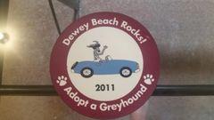 2011 Bewey Beach Rocks Car Magnet