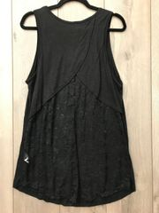 Flowy Black Cowgirl Tunic