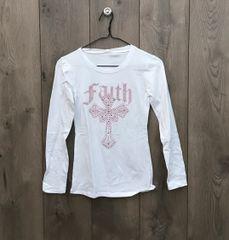 SJ2900 - Faith Long Sleeve w/ Pink Embellishment