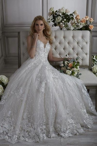 Louisa, Adrianna Papell Platinum, Wedding Dress | Cupid Couture