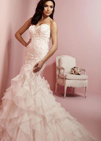 3112 Cupid Couture, Wedding Gown, Color: Rose Pink/Silver | Cupid ...
