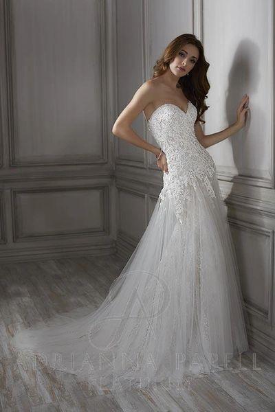 Lula, Adrianna Papell Platinum, Wedding Dress | Cupid Couture