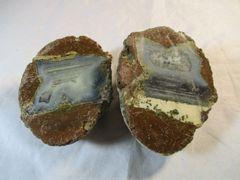 Cut and Polished Oregon Thunderegg Agate