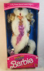 NIB Enchanted Evening Barbie Doll by Mattel 1991 JC Penny Limited Edition #2702