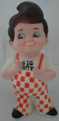 CLASSIC 1973 BOBS BIG BOY RESTAURANT MONEY BANK DOLL 13-901