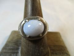 Ellensburg Blue Sterling Silver Ring Size 9 Rare Gem Stone Beautiful