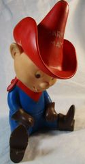 Vintage Marky Maypo Rubber Doll Advertising FigureToy Maypo Cereal 1963