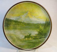 Antique 48th Annual Grand Lodge Reunion 1912 Official Souvenir Art Plate 1912