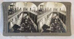 Vintage Keystone View Company Stereoview Card French Guns Paris France