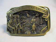 Vintage 1987 Limited Forest Fires Campaign 2604/5000 Belt Buckle #6654