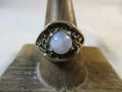 Ellensburg Blue Sterling Silver Ring Size 10 Rare Gem Stone Beautiful