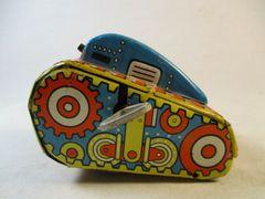 Vintage MARX # 5 Wind-Up Rollover Tin (USA) Tank #545