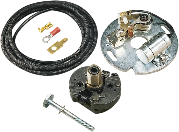 Complete Points Ignition set w/ Weights