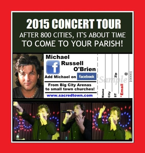 Have Michael Do A Concert!
