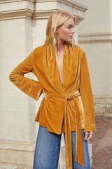 The Jet Set Diaries Golden Hour Robe Top