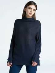 Press Dolman Sleeve Turtleneck Sweater