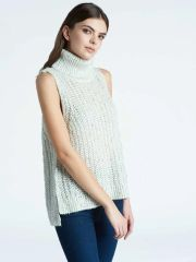 Press Turtleneck Sweater Tank