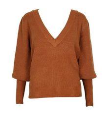 Mink Pink Chandra V Neck Sweater