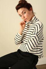 Line + Dot Elle Striped Sweater