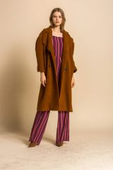 Line and Dot Leonora Coat