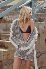 The JetSet Diaries Westwood Knit Tassle Jacket