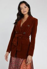 Honey Punch Belted Peacoat
