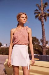 Sage the Label Rosamund Mini Wrap Skirt