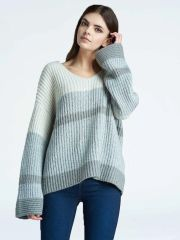 Press Colorblock Bell Sleeve Sweater