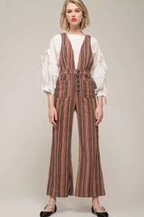 Moon River All the Stripes Jumpsuit