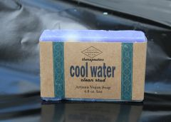 Cool Water Artisan Vegan Soap | 4.8 oz bar