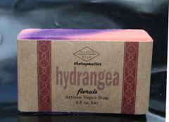 Hydrangea Florals Artisan Vegan Soap | 4.8 oz bar