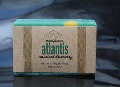 Atlantis Nautical Discovery Artisan Vegan Soap | 4.8 oz bar
