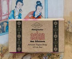 Asian Tea Blossom Artisan Vegan Soap | 4.8 oz bar