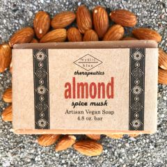 Almond Artisan Vegan Soap | 4.8 oz bar