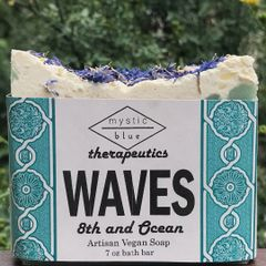 Waves Artisan Vegan Soap | 7 oz bar