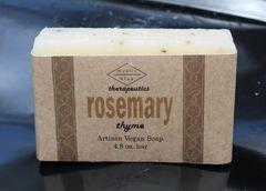 Rosemary Thyme Artisan Vegan Soap | 4.8 oz bar