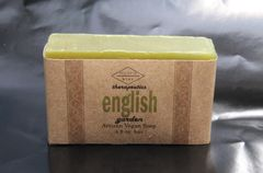 English Garden Artisan Vegan Soap | 4.8 oz bar