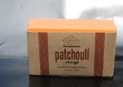 Patchouli Orange Artisan Vegan Soap | 4.8 oz bar
