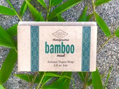 Bamboo Mud Artisan Vegan Soap | 4.8 oz bar