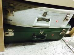 vintage plastic suitcases